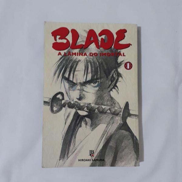 mangá blade a lâmina do imortal - volume 1