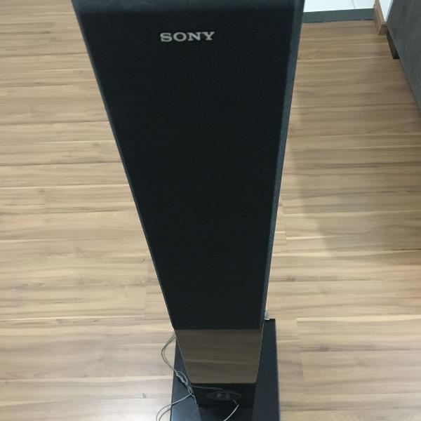 par de caixas sony tipo torre para home ou som