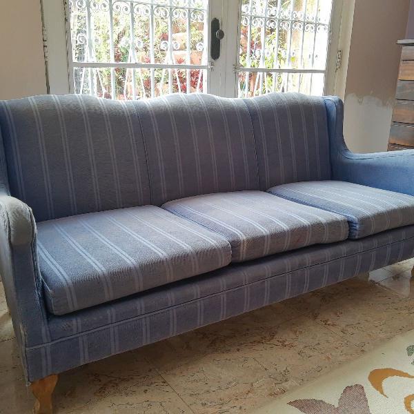 sofá estilo francês - década de 50