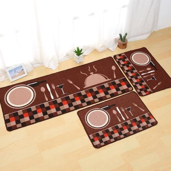 tapetes para cozinha jogo de cozinha 3 peças
