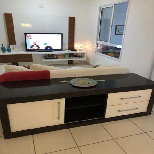 Apartamento de 3 dormitórios na Ponta da Praia, 2 vagas de