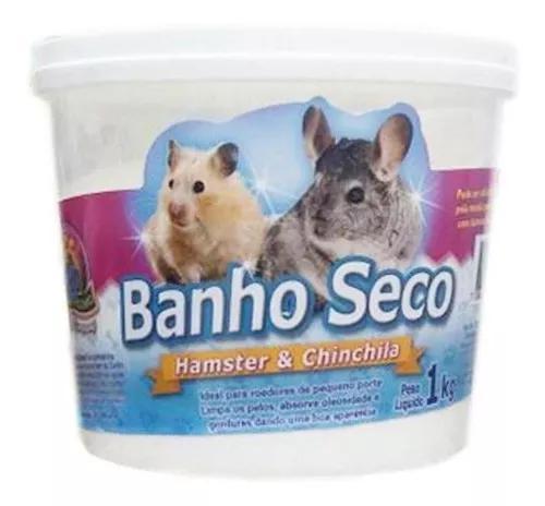 Banho A Seco Para Hamster E Chinchila Animalíssimo 1kg