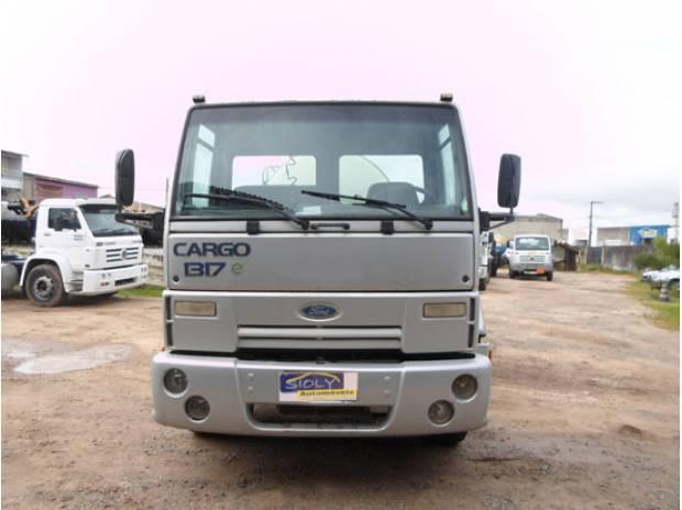Caminhão Ford Cargo 1317 C/ Tanque Inox 9.000lts 2006
