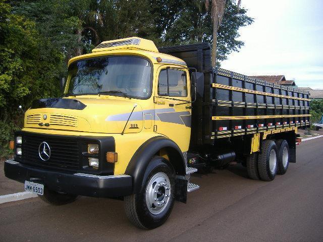 Caminhão Mb 1113 Ano 1973 Truck
