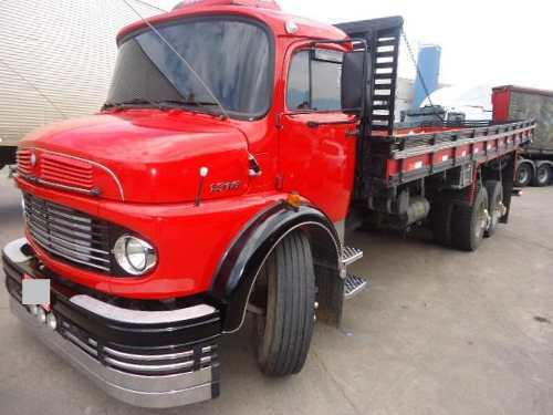 Caminhão Mb 1313 Ano 1979 Truck