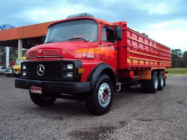 Caminhão Mb 1513 Ano 1979 Truck Turbo Direção
