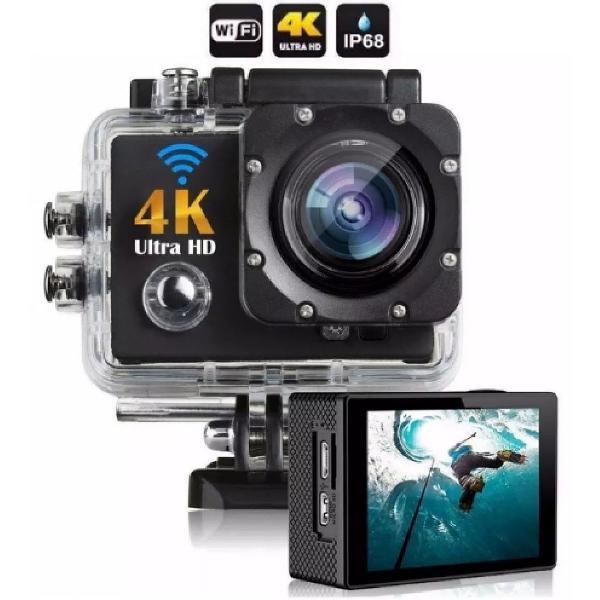 Câmera Filmadora Ultra Hd Digital Videos 4k Wi-fi Pr/