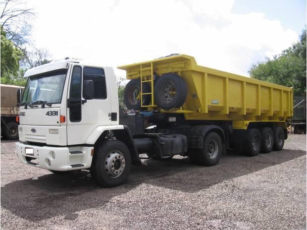 Conjunto Basculante (Cargo 4331 + Carreta Caçamba 22M³