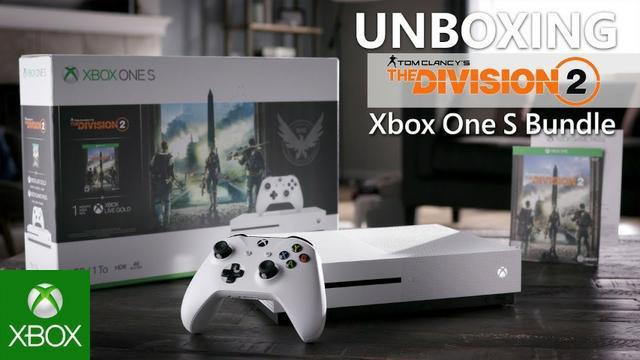 Console Xbox One S 1 Tb - The Division 2 / Lacrado