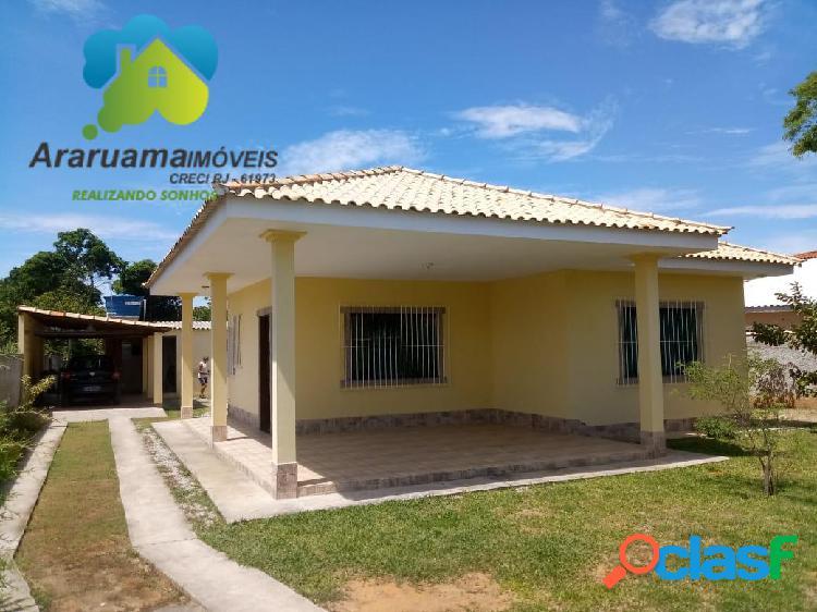 Excelente casa nova em araruama localizada no bairro areal