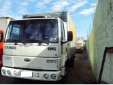 FORD CARGO 815 ANO 2001 COM BAU 6 PNEUS ZERO