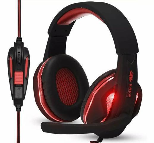 Fone Gamer + Adap.ps4 Knup Kp396 Headfone Headset Gamer