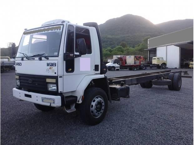 Ford Cargo 1618 ano 1989 Toco