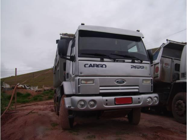 Ford Cargo 2622 6x4 com caçamba