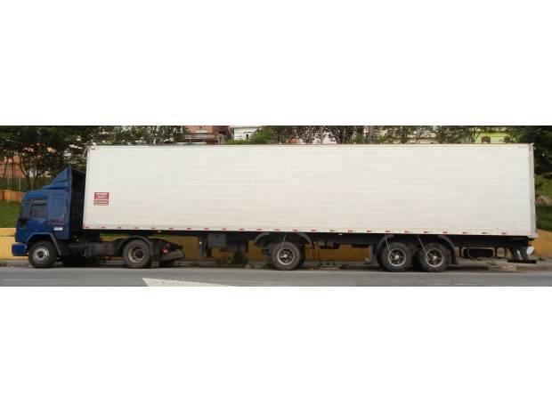 Ford Cargo 4031 2003 Gabinado com Carreta Bau 2008 15,40
