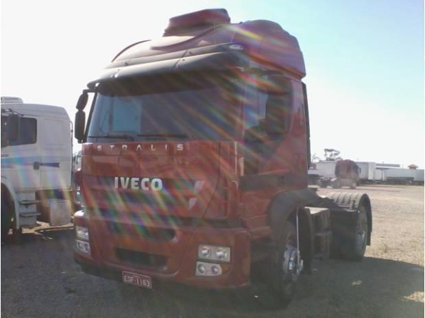 IVECO STRALIS 410, 4X2, TETO ALTO, 2011