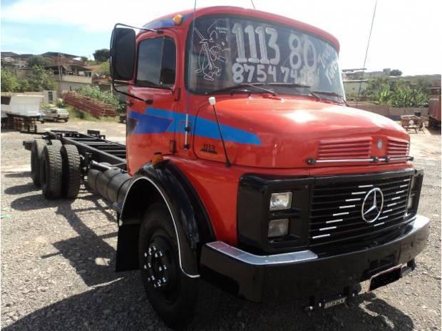MB 1113 80 Truck super novo (31)8754 7428