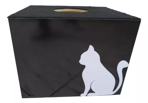 Nicho Toca Casinha Para Gatos Pet Com Carpete Adesivado