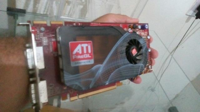 Placa de Video AMD ProV5600 128Bits Vai Com HDMI gamer