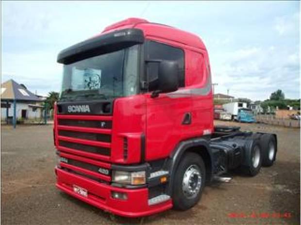 SCANIA R 124 420 6X2 2002