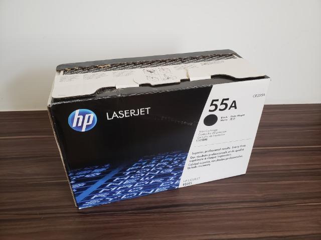 Toner HP 55A Preto Laserjet Original (CE255A) para HP