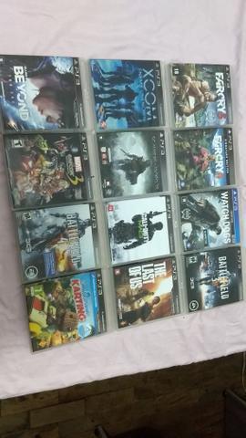Troco jogos de PS3 por de Wii