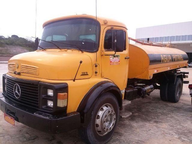 caminhão mb 1113 ano 1979 pipa