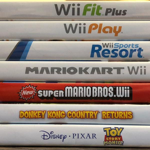 pack 7 jogos Wii