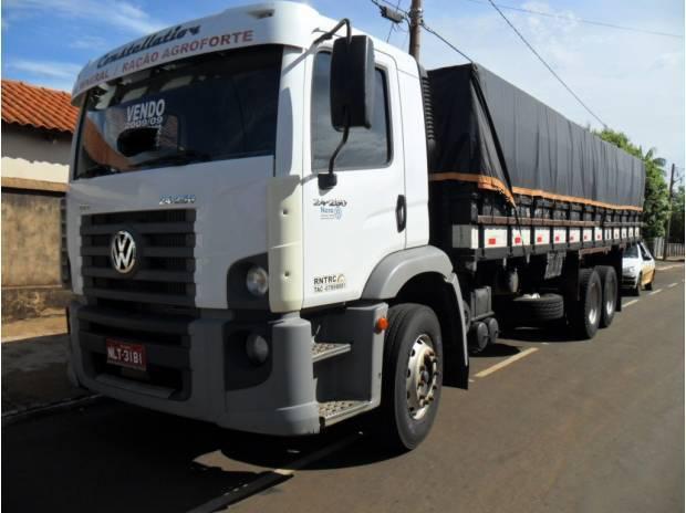 volks 24250 truck graneleiro unico dono 289 mil km original