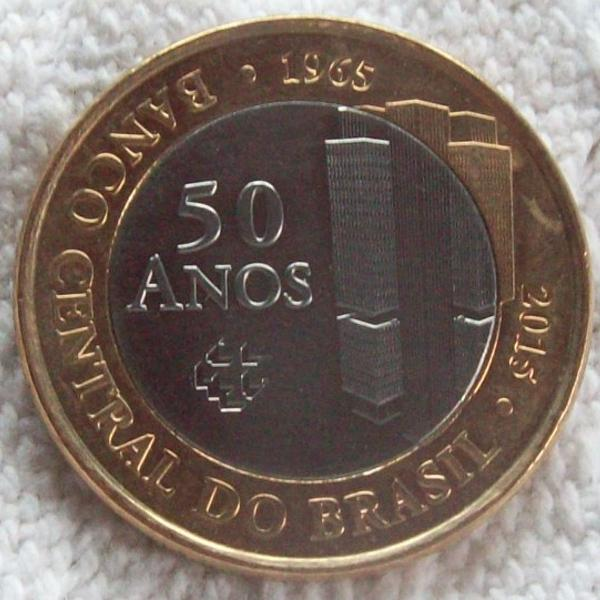 50 moedas comemorativas banco central 50 anos 2015