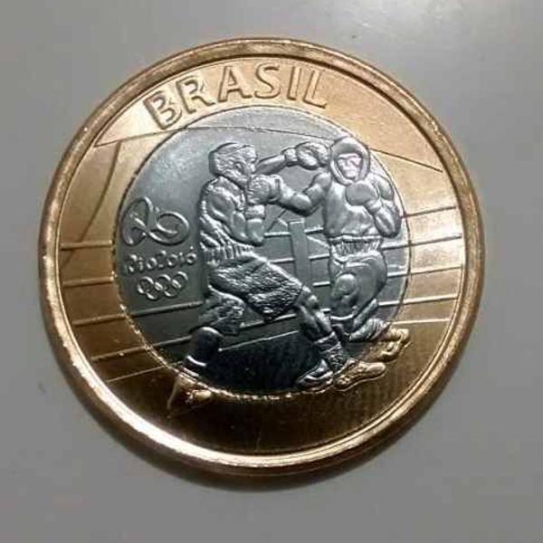 50 moedas olimpíadas - boxe