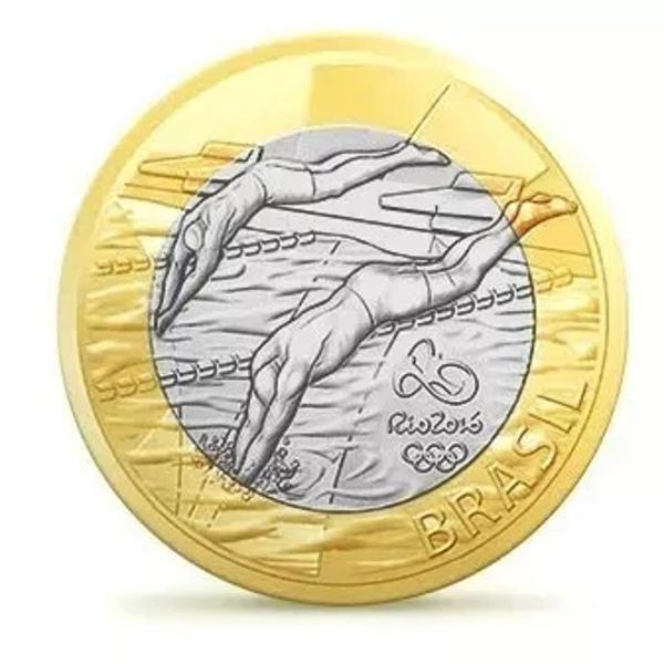 50 moedas olimpíadas - natação