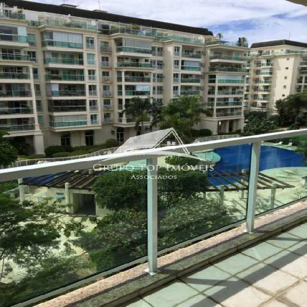 Le Parc Barra da Tijuca Apartamento com 2 quartos 1 suite