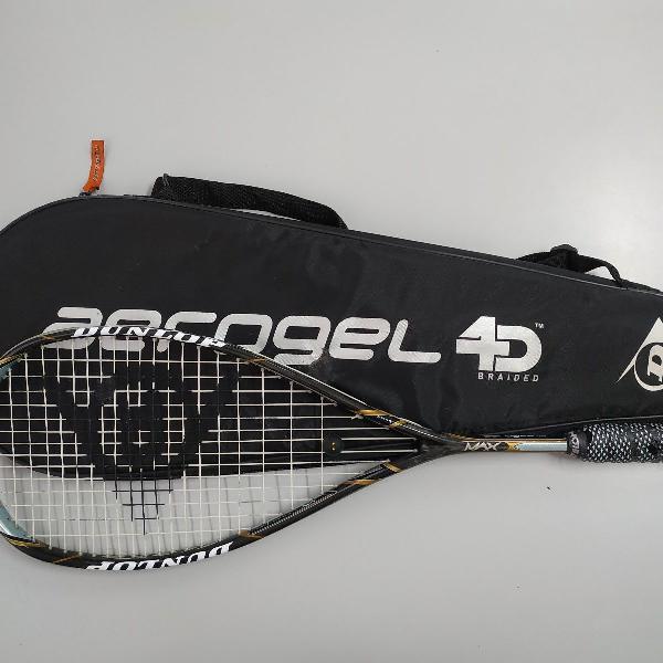 Raquete Squash Dunlop Aerogel 4d Max
