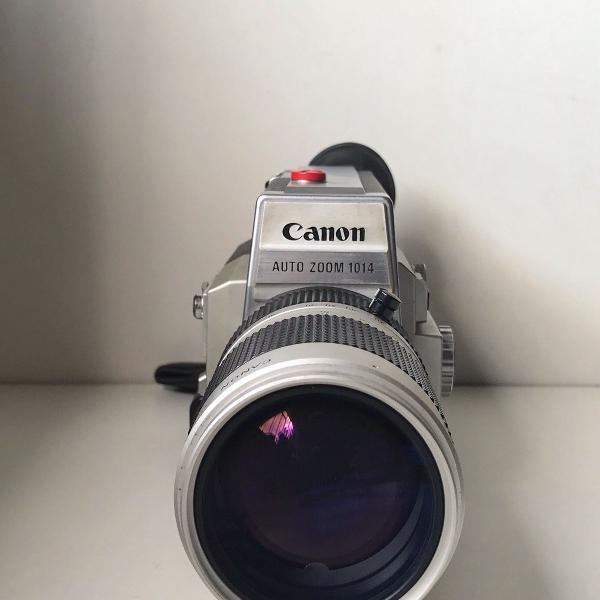 camera canon 1014 eletrônic super 8