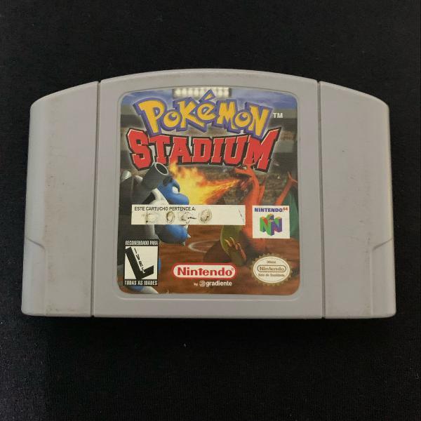 cartucho pokemon stadium. nintendo 64. n64.