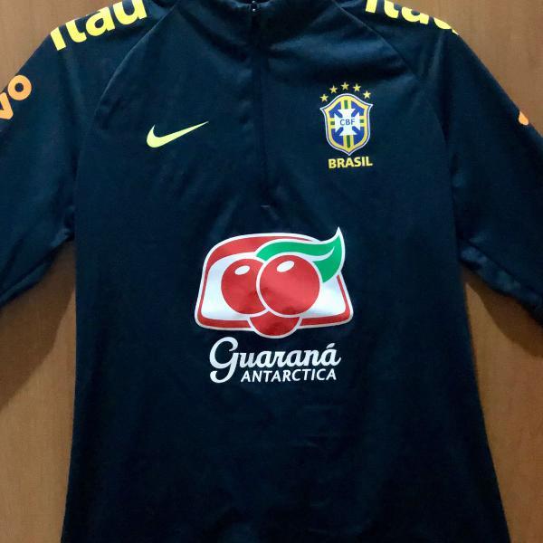 jaquetinha cbf nike seleção brasileira fem