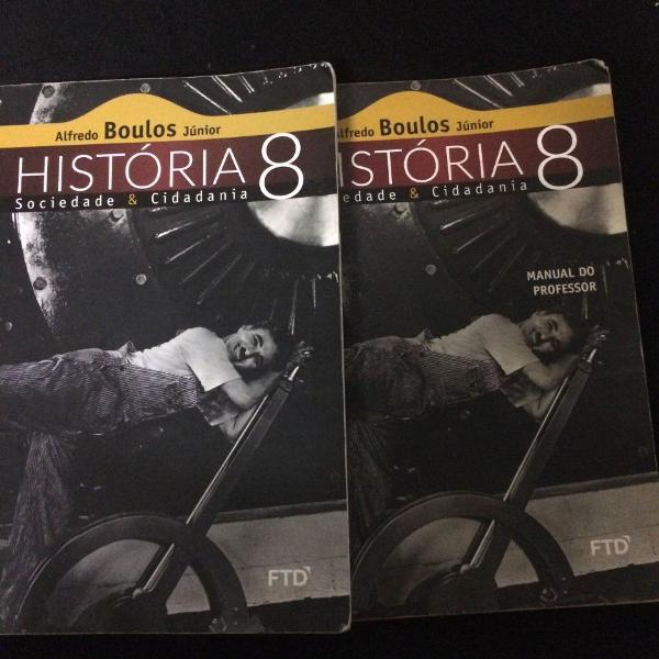 livro de história 8 ano , ftd