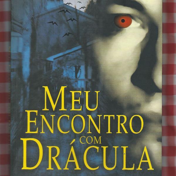 livro - meu encontro com drácula - walther alvarenga