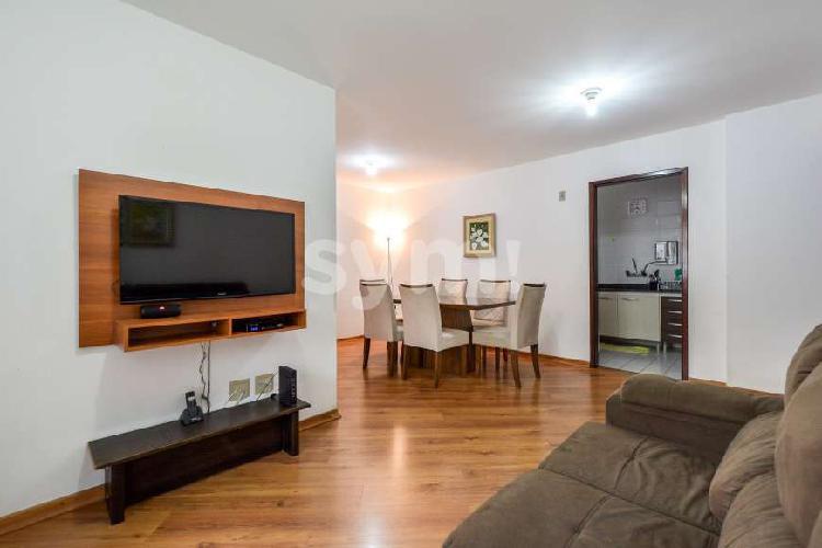 Apartamento semi mobiliado 3 quartos Portão