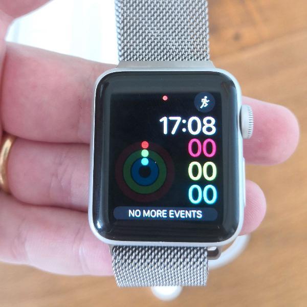 Apple Watch Series 3 - 38mm - Como NOVO - nunca usado