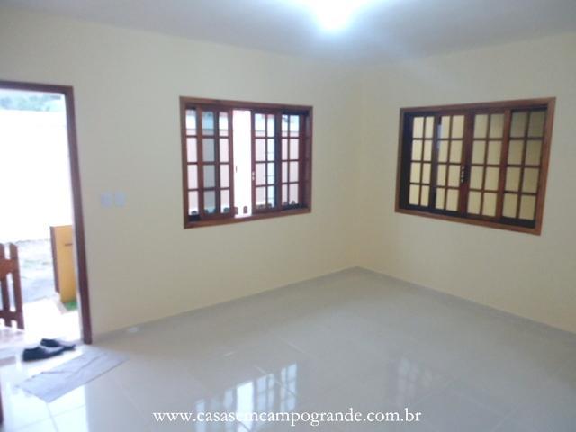 Campo Grande - São Jorge - Casa Duplex 2 Suítes Nova - 1ª