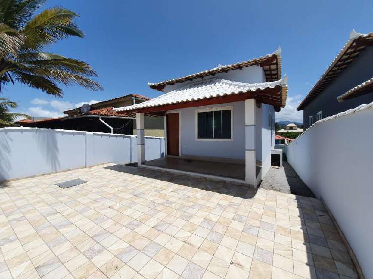 Casa de frente a praia no bairro do Boqueirão - Saquarema -