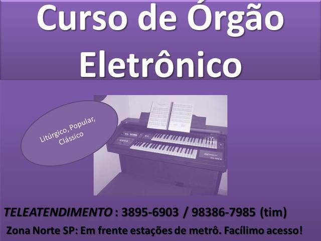 Curso De Orgao Eletronico Zona Norte Santana Tucuruvi Parada