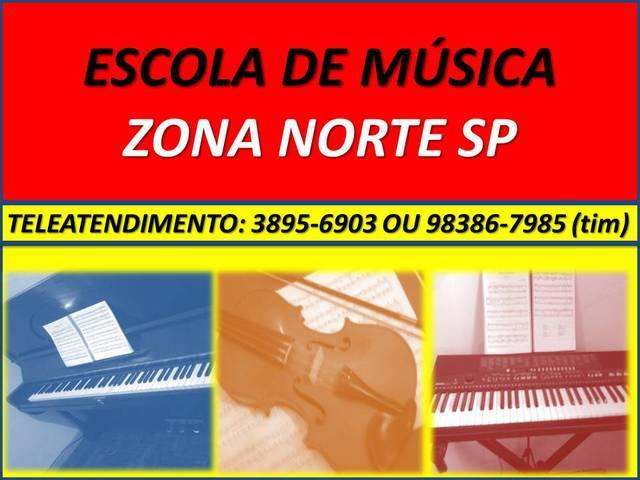 Escola De Musica Zona Norte Sp Metro Parada Inglesa Santana