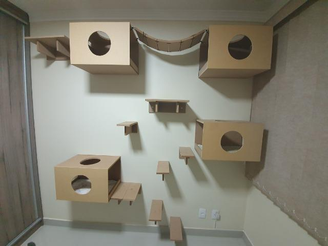 Kit Playground para gatos - 14 peças