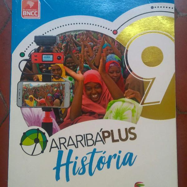 Livro Araribá Plus História