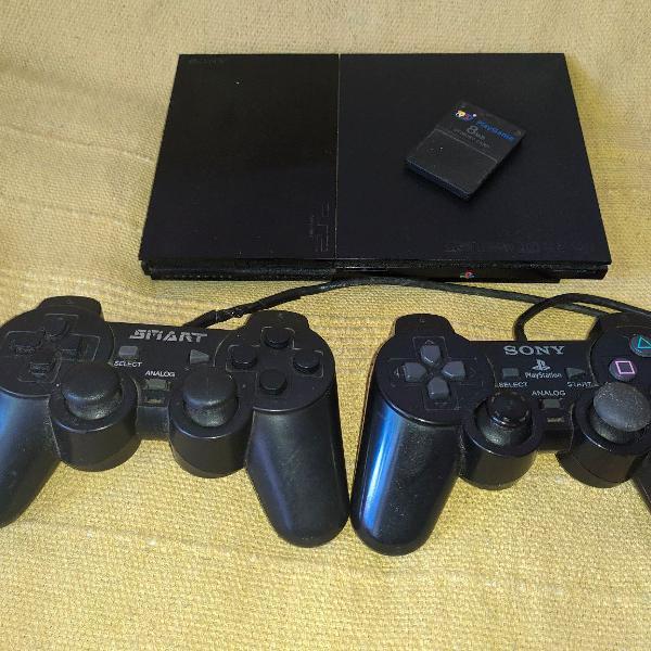 PS2 Slim Preto