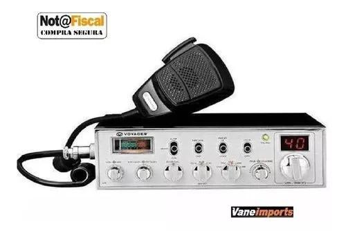 Radio Px Amador Voyager Vr9900 480 Canais Digital C/ Nota