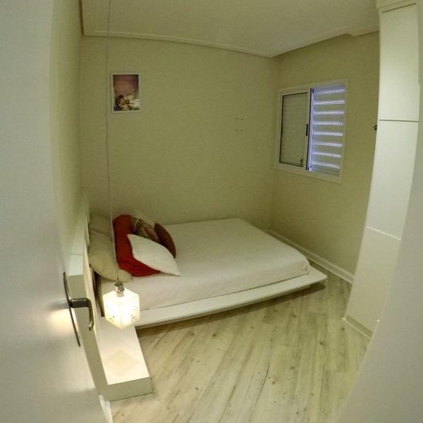 cama tatâmi + colchão casal